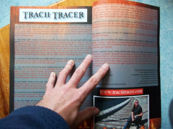 ©The Metal Mag N°3 with Tracii Tracer