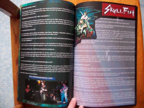 ©The Metal Mag N°3 with Skullfist