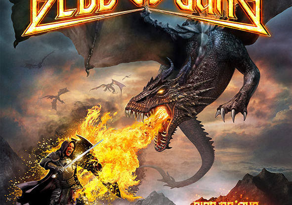 """Bloodbound : """"Rise of The Dragon Empire"""" CD & LP 22th March 2019 AFM Records."""