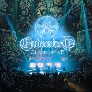 "Entombed : ""Live Clandestine "" CD & LP 17 May 2019 Threeman Records."