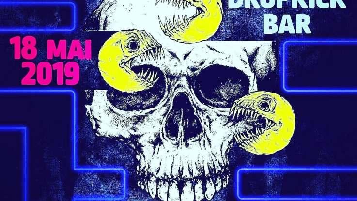 Smash Hit Combon au Dropkick Bar le 18 Mai 2019 France.