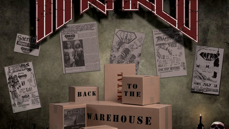 "Infrared : ""Back to the Warehouse"" CD Self Released 14th June 2019."
