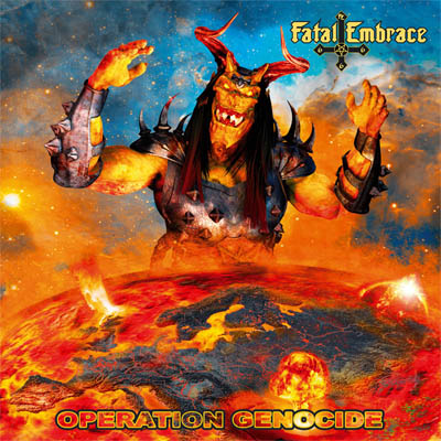 """Fatal Embrace : """"Operation Genocide"""" CD & LP 27th September 2019 Iron Shield Records."""