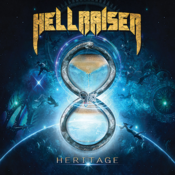 "Hellraiser : ""Heritage"" CD 25th May 2019 Underground Symphony."