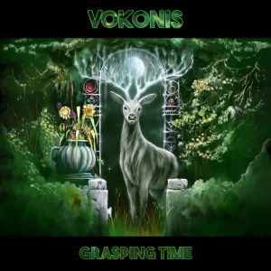 "Vokonis : ""Grasping Time"" CD & LP & Digital 6th September 2019 The Sign Records."
