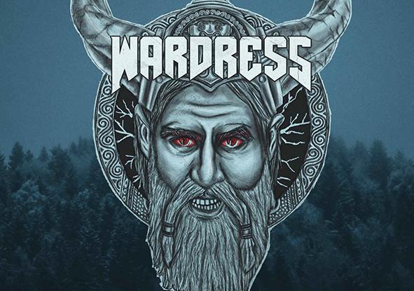 "Wardress : ""Dress For War"" CD 4th October 2019 Fastball Records."