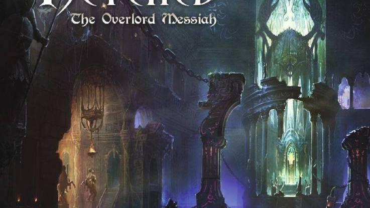 """Retched : """"The Overlord Messiah"""" LP & CD 2017 Alone Records."""