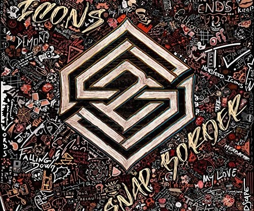 "Snap Border : ""Icons"" CD & Digital 16th December 2020 Self Produced."