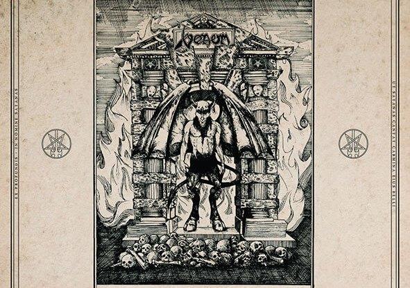 "Venom : ""Sons of Satan - Rare and Unreleased""CD & LP & Digital 28th August 2020 BMG."