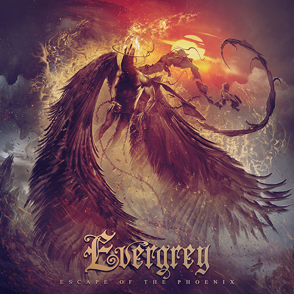 """Evergrey : """"Escape of The Phoenix"""" CD & LP 26th February 2021 AFM Records."""