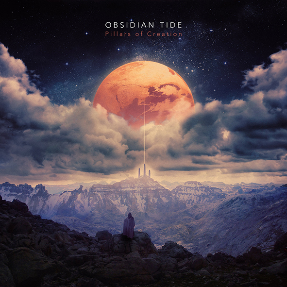 """Obsidian Tide : """"Pillars Of Creation"""" CD 29th August 2019 Self Released."""