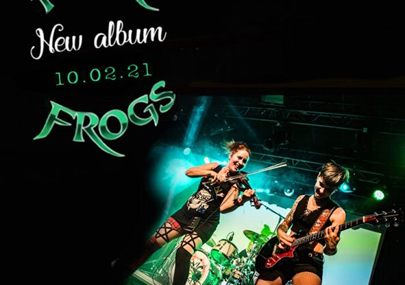 "Toxic Frogs : ""My Lucky Own"" CD & Digital 10th February 2021 Self Released."
