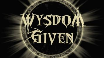 "Wysdom Given : ""Into The Night "" CD 4th May 2020 Self Released."