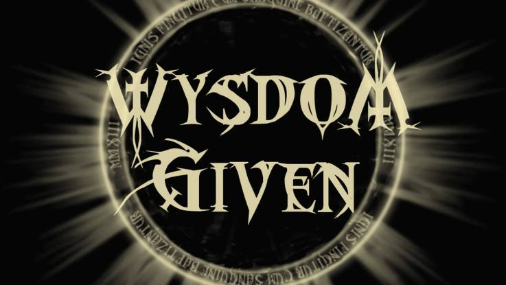 """Wysdom Given : """"Into The Night """" CD 4th May 2020 Self Released."""