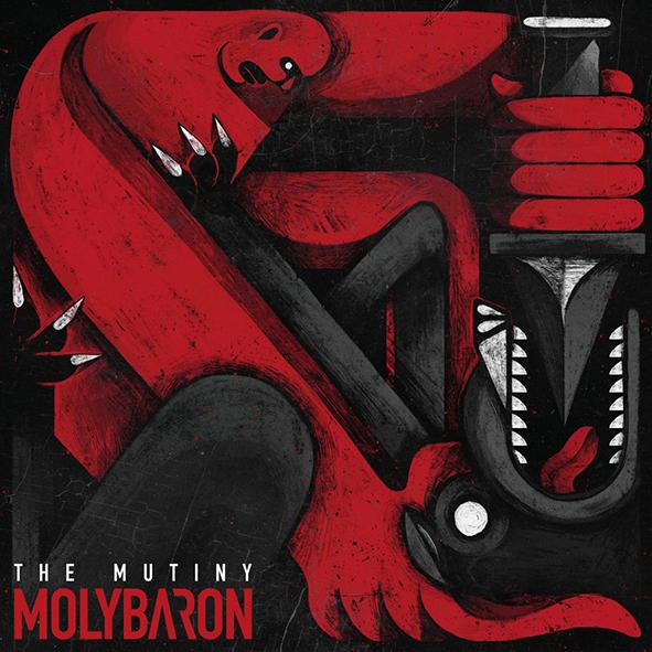 "Molybaron : ""The Mutiny"" Digipack CD & Digital June 2021 Season Of Mist."