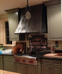 Yorkshire Range Hood - handcrafted in USA by The Metal Peddler