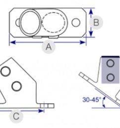 angle base flange 30 45 251 [ 1200 x 833 Pixel ]