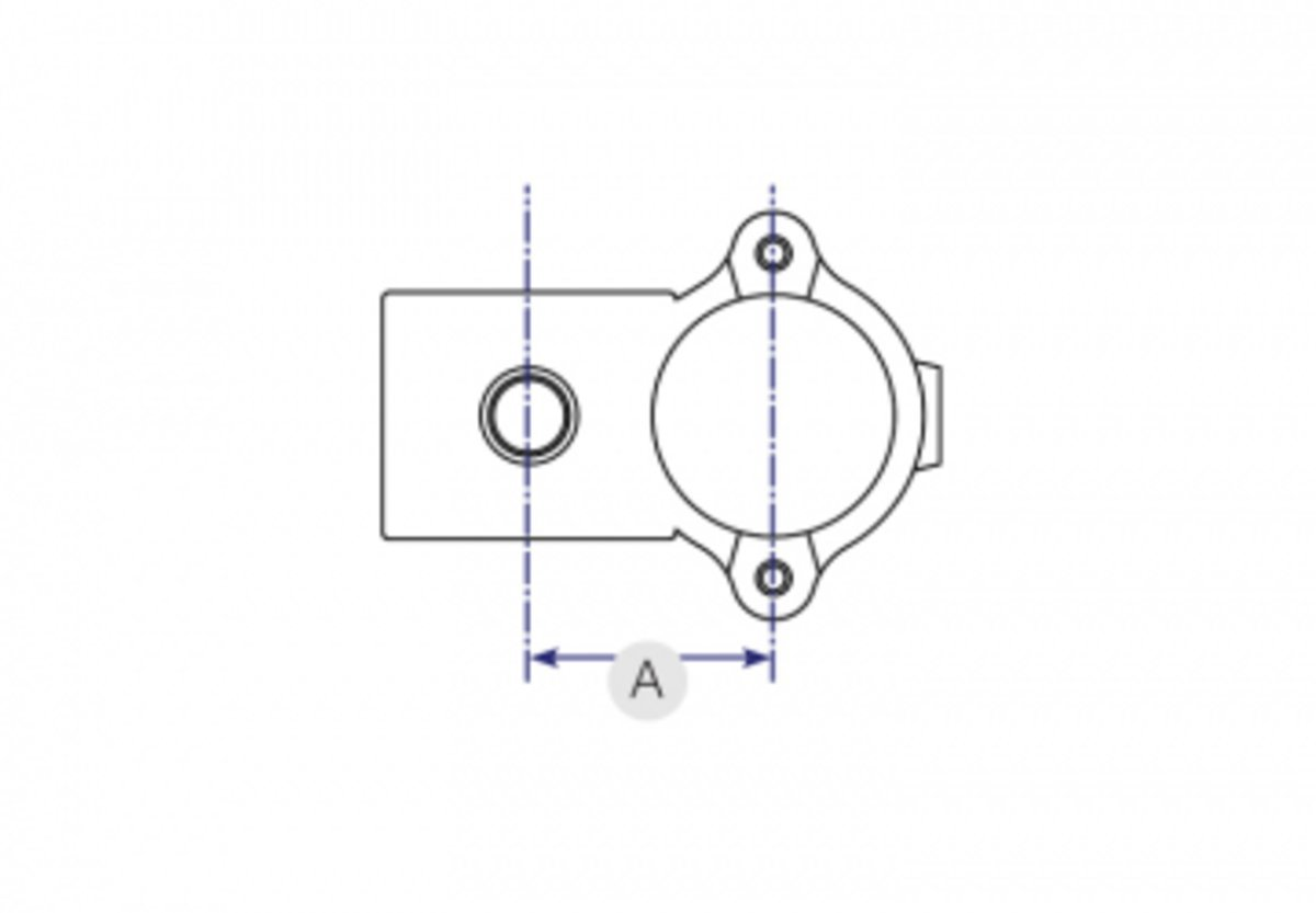 Buy Clamp On Crossover 90 Degree