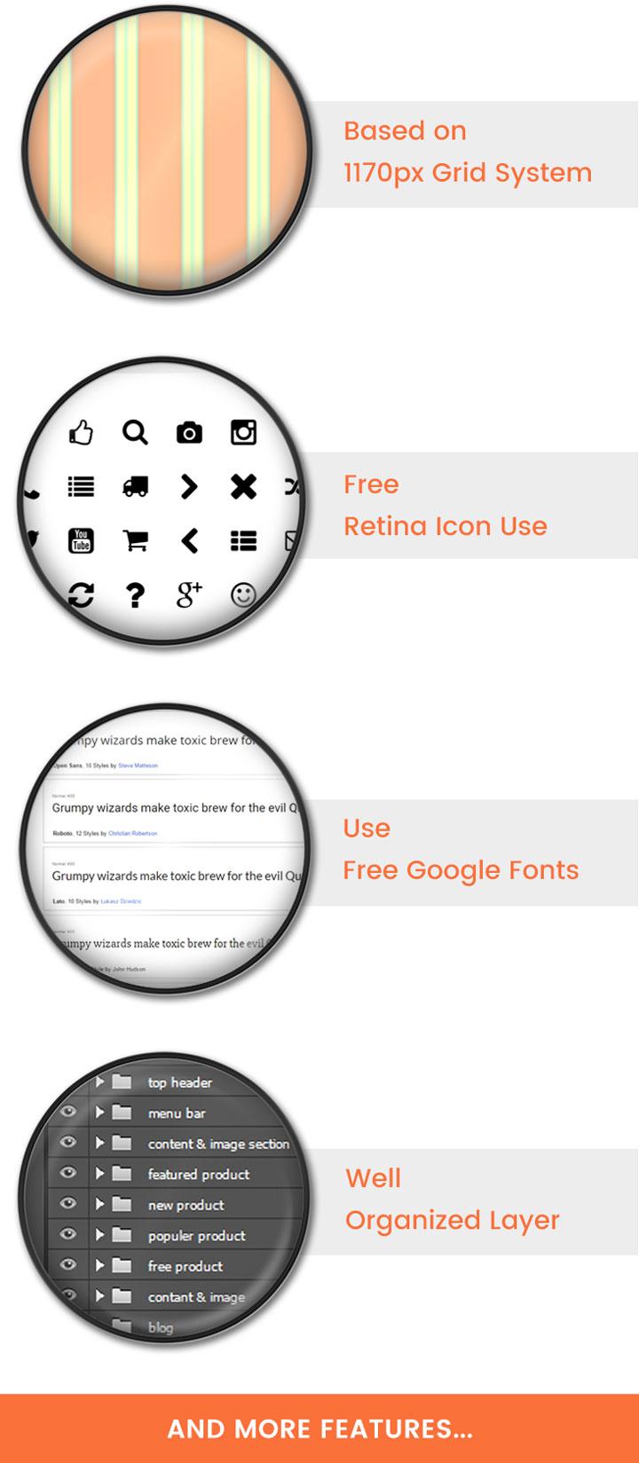 themetidy-Foot---Creative-eCommerce-Shop-PSD-Template-description-feature-list-image