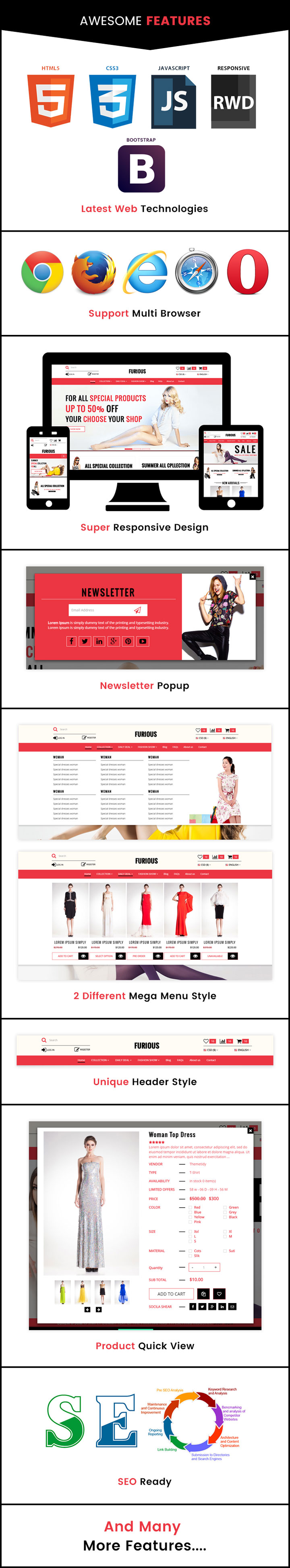 Furious Bootstrap Fashion Ecommerce Html Template Themetidy