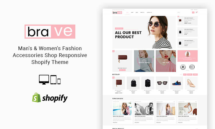 Brave mans womens fashion accessories shop responsive brave mans womens fashion accessories shop responsive shopify theme themetidy pronofoot35fo Images