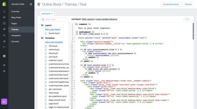 How to edit shopify themes templates using html css javascript when you consider to accomplish for adjustment to themes built in settings a way doesnt require code modifying maxwellsz