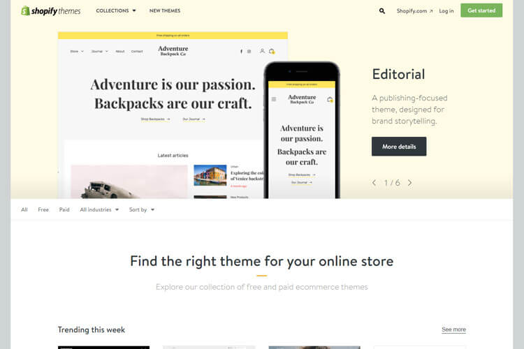 Shopify template tutorial help you to customization your ecommerce you can also themes by price popularity and most recent youve found a theme you like click on the themes image pronofoot35fo Image collections