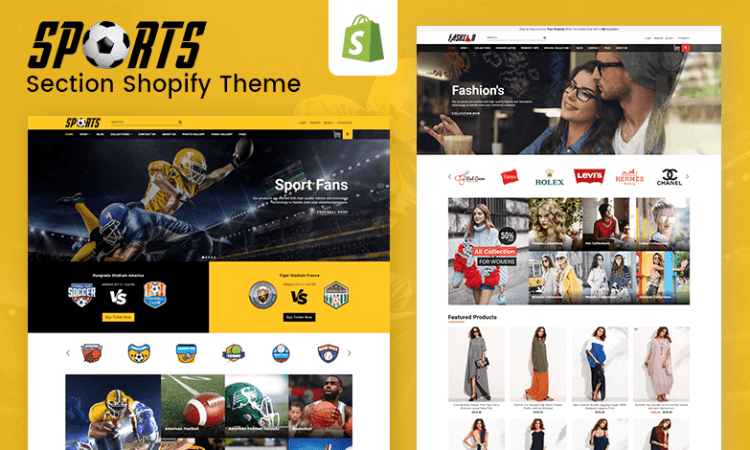Sports – Multipurpose Responsive Drag & Drop Shopify Theme (Sections Ready)