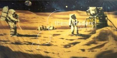 Moon Landing backdrops Theme Traders
