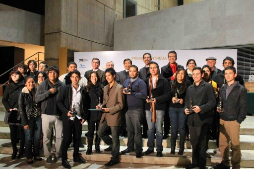 All winners at First Annual Youth & Innovation Awards Tijuana Inovadora 2011