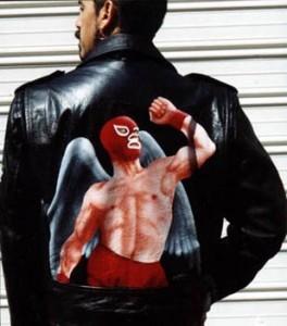 Chamarra Luchador Rojo