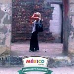 On assignment with Mexico Today (photo by Laurie Costanza)