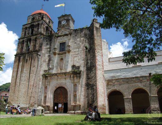 Templo del Divino Salvador, Malinalco