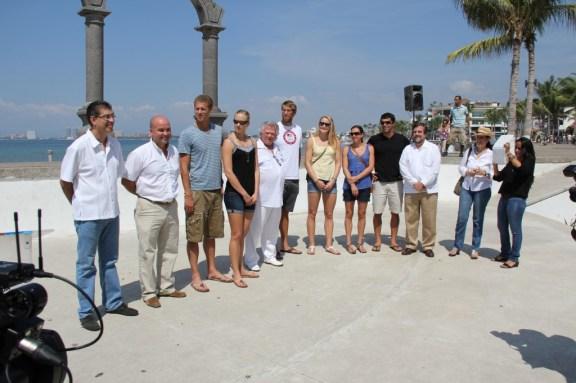 U.S. Olympians Receive Key to Puerto Vallarta