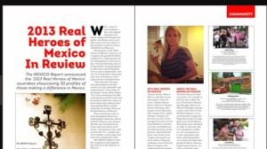 Susie Albin-Najera, editor of The Mexico Report and Creator of The Real Heroes of Mexico in Nov '13 Image & Style Magazine