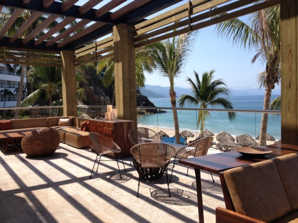 View from the new Hyatt Ziva Puerto Vallarta (2/25/15) photo ©The Mexico Report