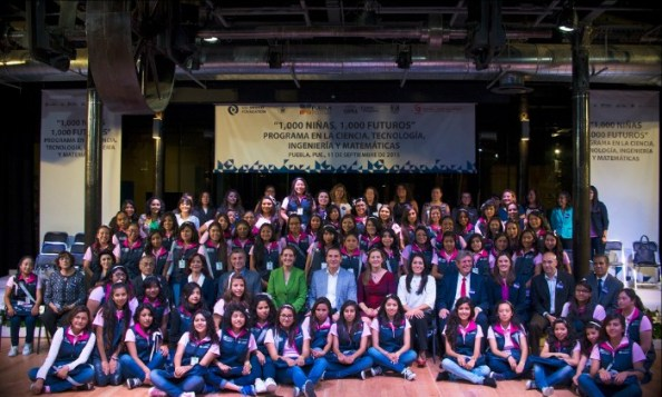 1,000 Girls - 1,000 Futures Launches in Mexico