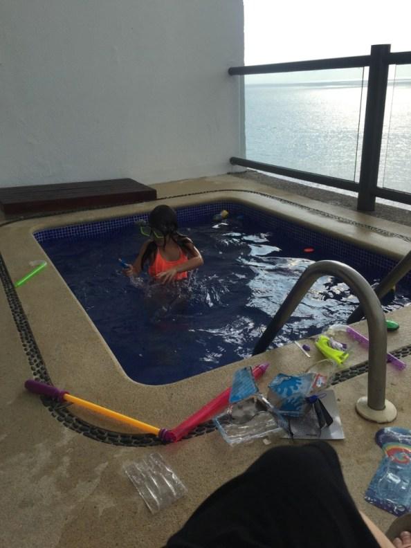 Plunge pool at Hyatt Ziva Puerto Vallarta © The Mexico Report