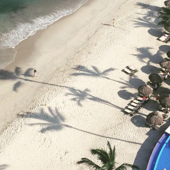 Beach at Hyatt Ziva Puerto Vallarta © The Mexico Report