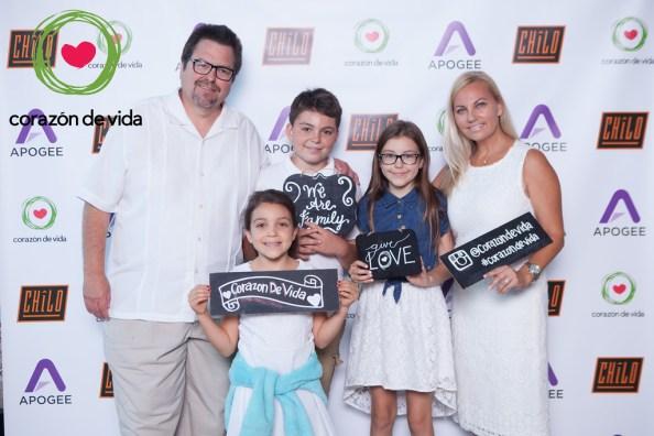 Najera family at CDV La Noche Blanca 2016