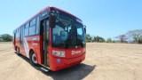 New modern bus transportation in Puerto Vallarta