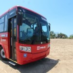 New modern bus transportation in Puerto Vallarta
