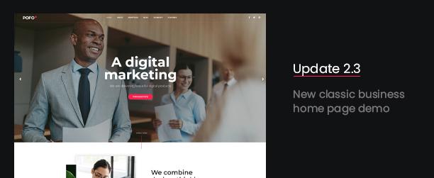 Pofo - Creative Agency, Corporate and Portfolio Multi-purpose Template - 3