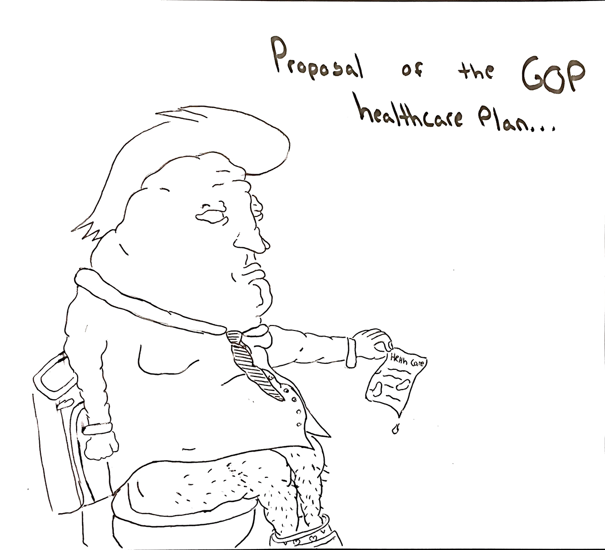 Trumpcare enabled by inattention, laughing off extreme