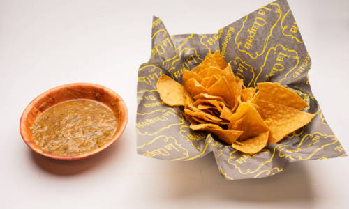 La Chuperia - The Miche Spot - Menu Chips & Salsa