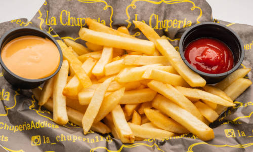 La Chuperia - The Miche Spot - Menu Basket of Fries