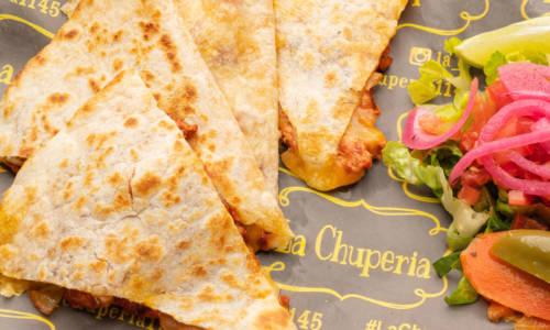 La Chuperia - The Miche Spot - Menu Quesadilla de Flor de Calabaza