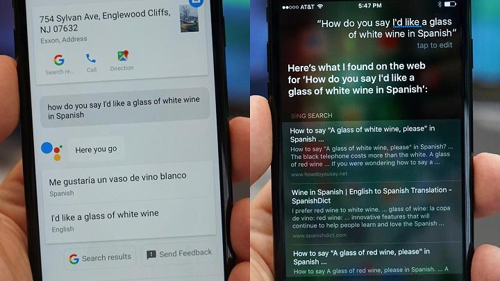 Siri vs Google Assistant