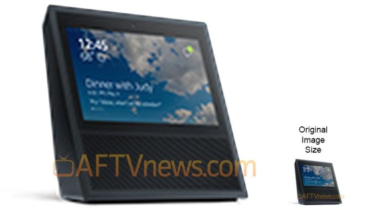 Leaked Amazon Echo touchscreen