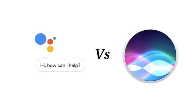 Siri vs Assistant.